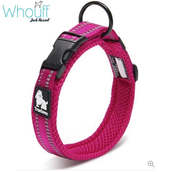 Adjustable Padded Reflective Dog Collar