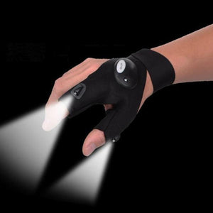 Night Hunting Flashlight Glove
