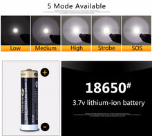 Load image into Gallery viewer, Detachable Rechargeable Bright LED Flashlight