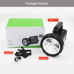 Rechargeable Bright LED Flashlight