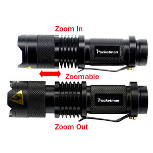 Adjustable Waterproof Penlight
