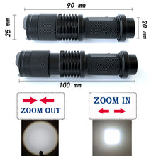 Load image into Gallery viewer, Adjustable Mini Led Flashlight