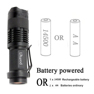 Adjustable Mini Led Flashlight