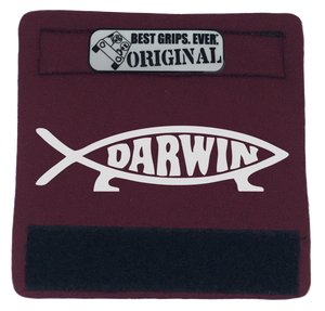 The Darwin Fish Grip. - BEST GRIPS. EVER.