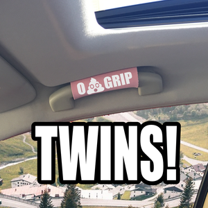 TWINS! The Emoji Poo Grip. - BEST GRIPS. EVER.