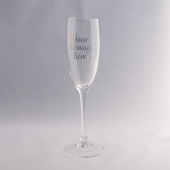 Customised Champagne Flute-Glassware-The FoilSmith