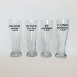 Customised Beer Glass