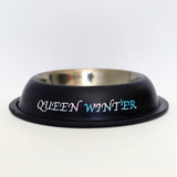 Customised Dog Bowl - Black