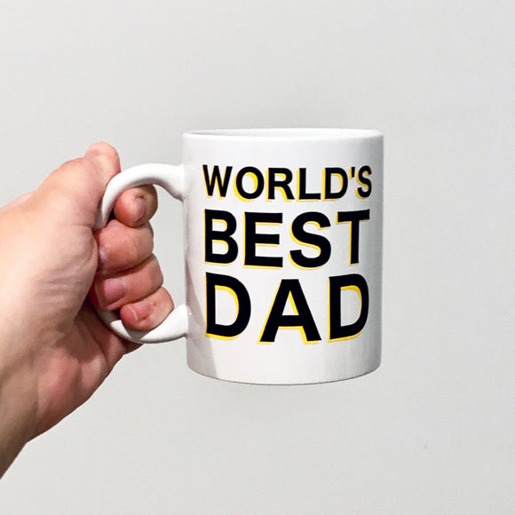 Personalised Father's Day Coffee Mug
