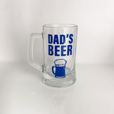 Fathers Day Glass
