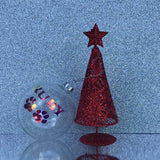 Customised Christmas Bauble - Clear-Christmas-The FoilSmith