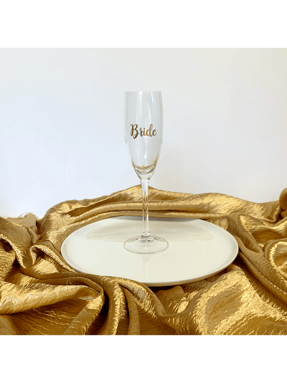 Customised Champagne Flute
