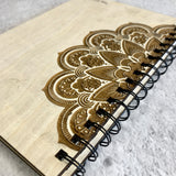 Personalised Engraved Wooden Notebook