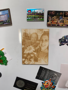 Laser Engraved Photo Magnet