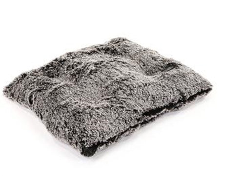 Black Frosted Pillow Bed