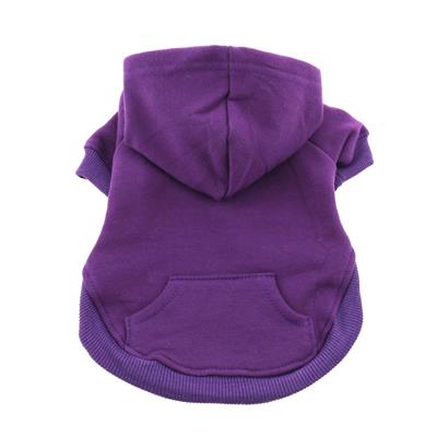 Flex-Fit Dog Hoodie - Purple