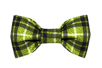 Bow Tie - Brown/Green Plaid