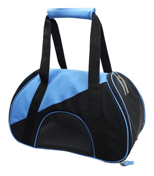 Blue Airline Approved Zip-N-Go Contoured Pet Carrier
