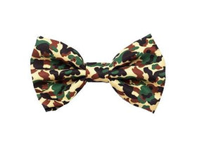 Bow Tie - Green Candy Canes