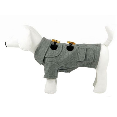 Military Static Wool Dog Coat