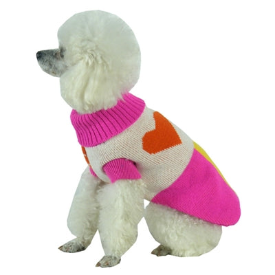 Heavy Knit Fashion Dog Sweater