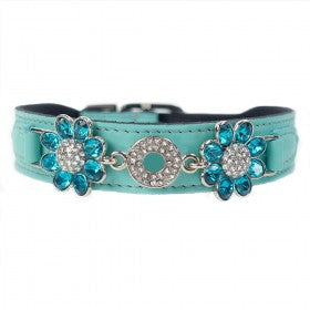 Daisy in Turquoise & Nickel