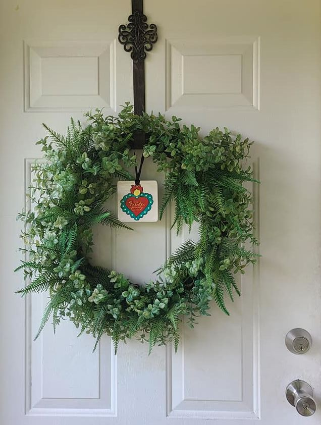 Copy of Clay Otomi Ornament - horse - Bay Leaf Door