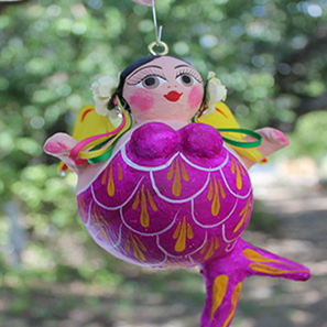 Curvy Mermaid Ornament - Bay Leaf Door