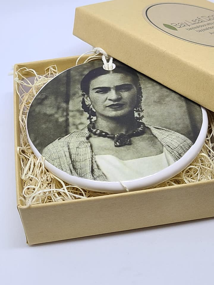 Ceramic Ornament - Frida Kahlo - early