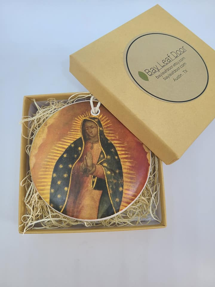 Ceramic Ornament - Our Lady of Guadalupe