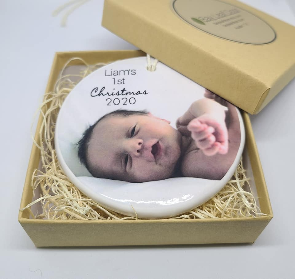 Custom Ceramic Keepsake Box - different images to choose from - Bay Leaf Door