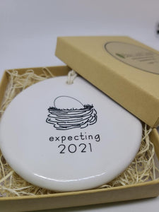 Expecting Ornament - 2021