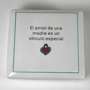 Mother's Love  - Keepsake Ceramic Box - Bay Leaf Door