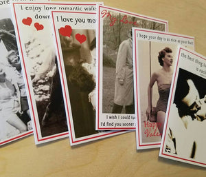 Vintage Inspired Valentine Cards - your choice of design - Bay Leaf Door