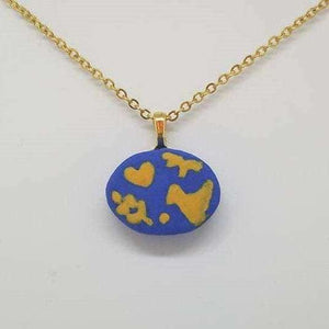 Clay Otomi Necklace - tiny - Bay Leaf Door