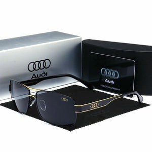 New Luxury Brand Men Audi Polarized Sunglasses