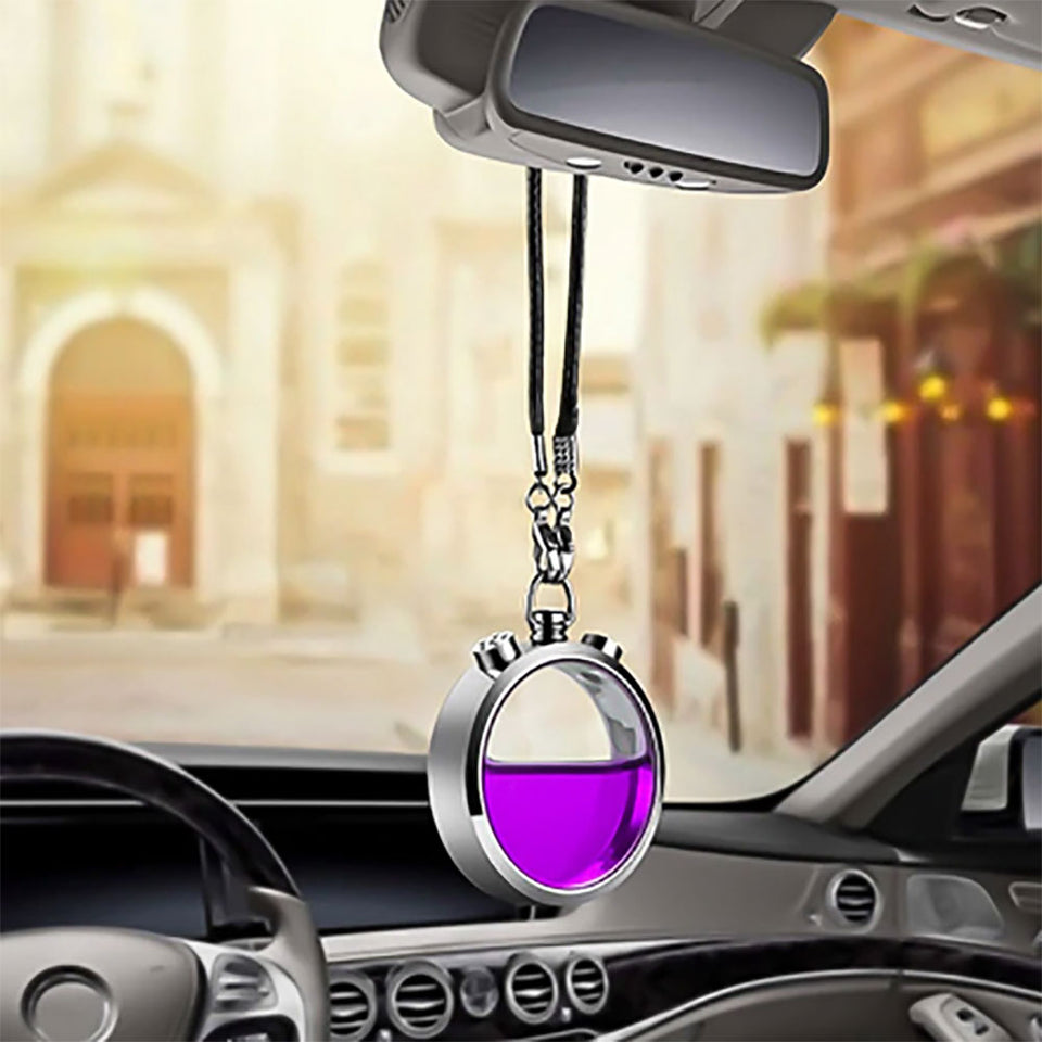 Car Air Freshener Perfume Bottle