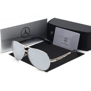 Mercedes-Benz Aviator Style Sunglasses