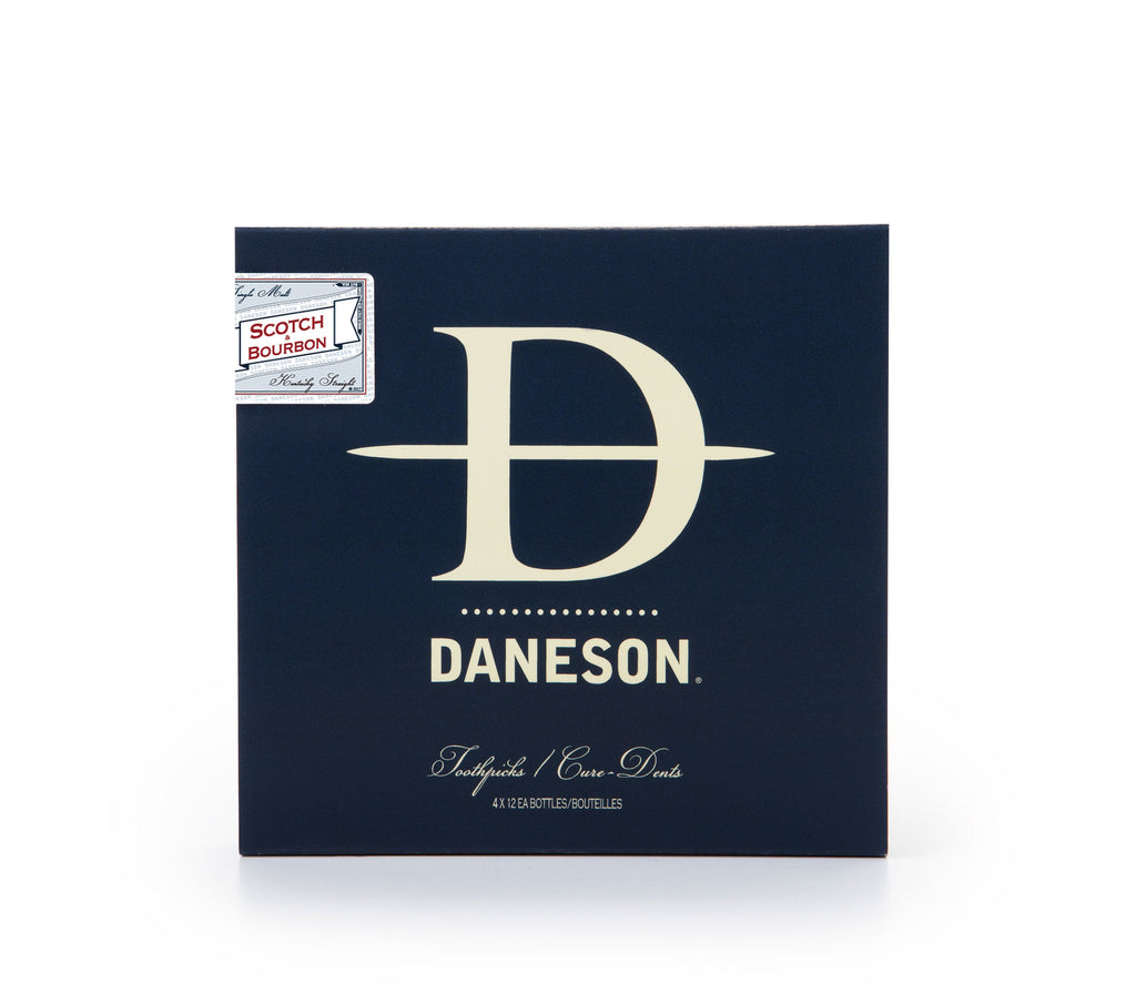 Daneson Scotch and Bourbon Toothpicks