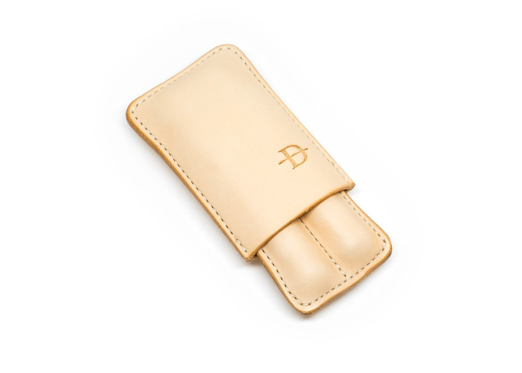 Wet-Molded Two-Finger Leather Case