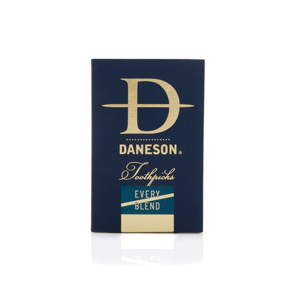 Daneson Toothpicks 4-Pack Every Blend Mint Cinnamint Bourbon Single Malt