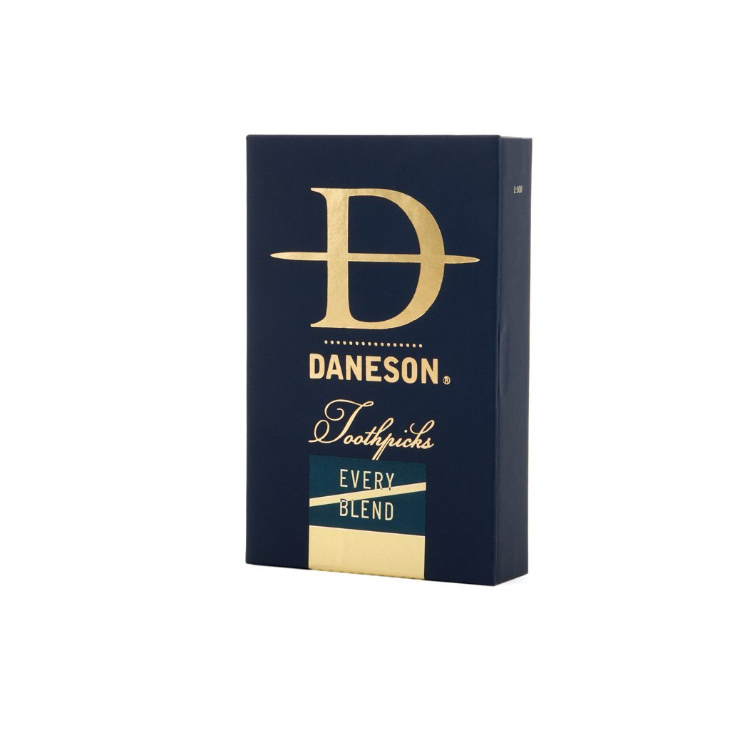 Daneson Toothpicks 4-Pack Every Blend Mint Cinnamint Bourbon Single Malt scotch whiskey