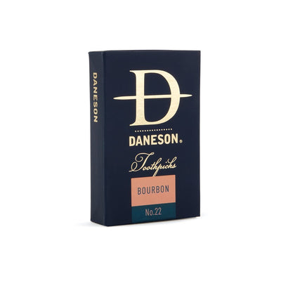 Daneson Toothpicks 4-Pack Bourbon Whiskey Whisky