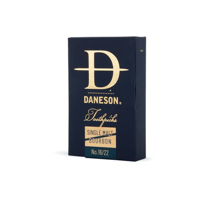 Daneson Toothpicks 4-Pack Bourbon and Single Malt Scotch Whiskey