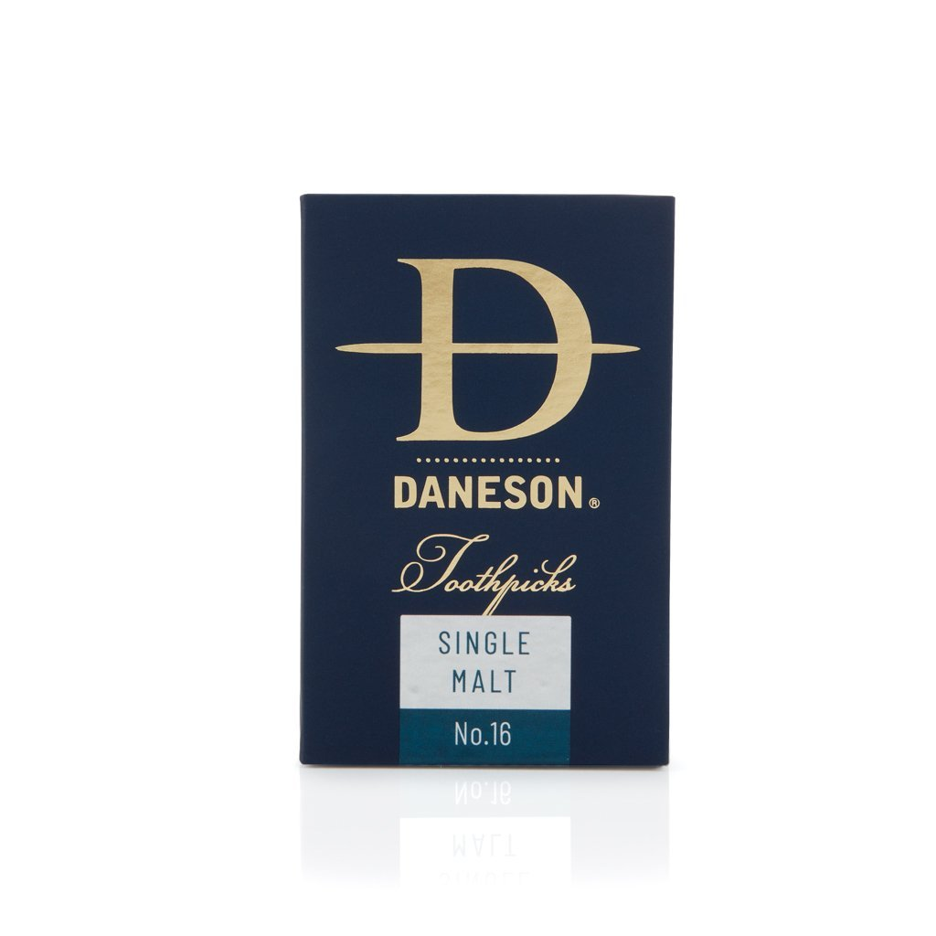 Daneson Toothpicks 4-Pack Single Malt Scotch Whiskey