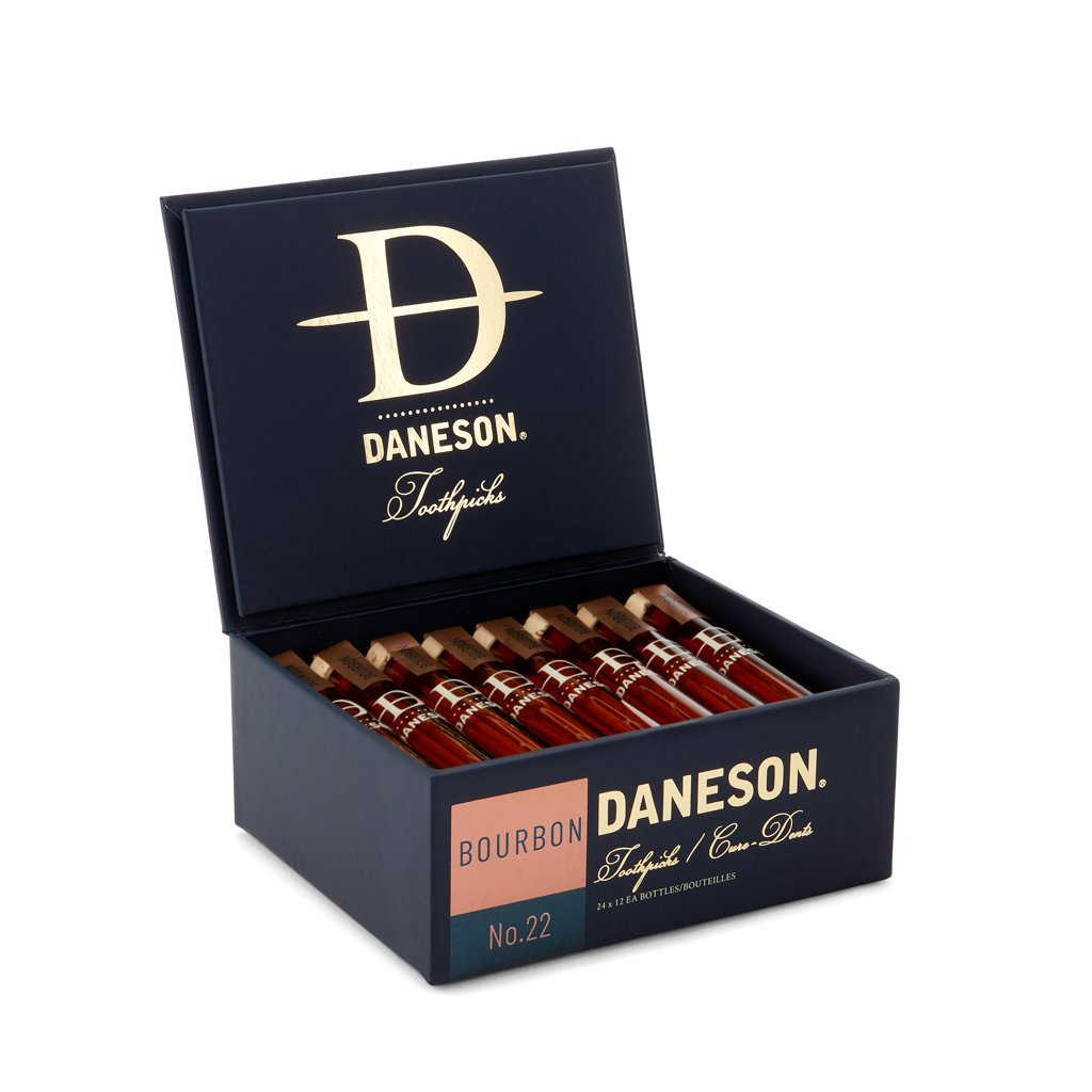 Daneson Toothpicks 24-Case Bourbon Whiskey