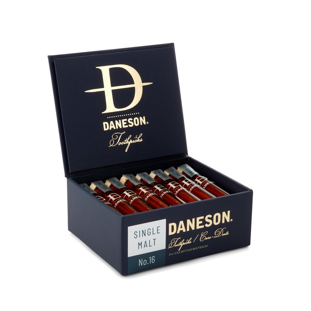 Daneson Toothpicks 24-Case Single Malt Scotch Whiskey