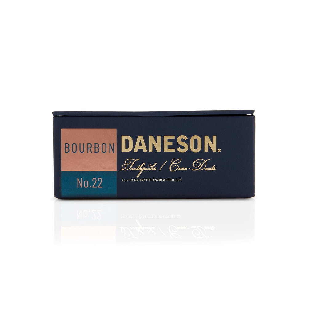 Daneson Toothpicks 24-Case Bourbon