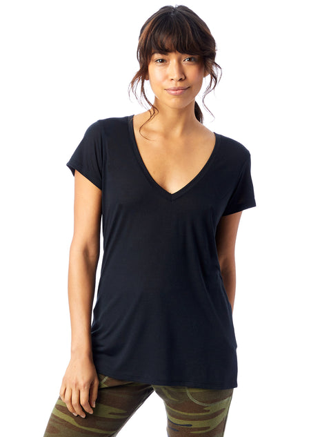Alternative 'Slinky V-Neck'