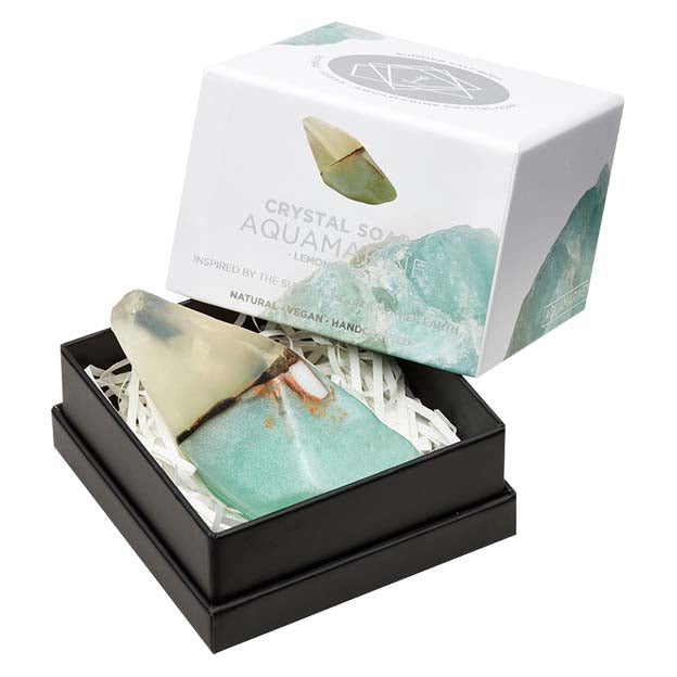 Aquamarine Crystal Soap